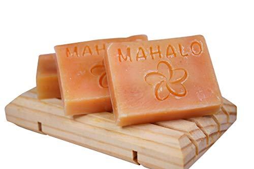 3x Rein natürliche Lemongrass/Zitronengras Seife Ohne Chemie für gepflegte Hände Handgemacht Beauty Set Seife 3x20g (Sehr ergiebig!)