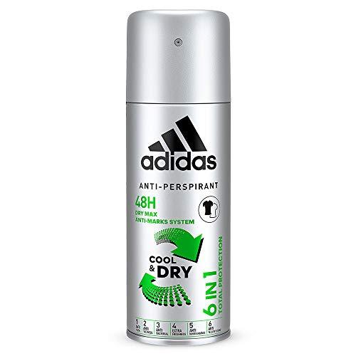 Adidas 6 in 1 Desodorante para Hombre -...