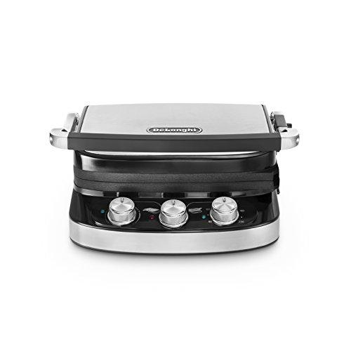 DeLonghi 0179415012Contact grill, acero/negro,...