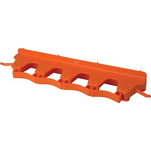 キョーワクリーン 本体 オレンジ 横幅:40cm Vikan(ヴァイカン)ブラケット 6個掛け 10187