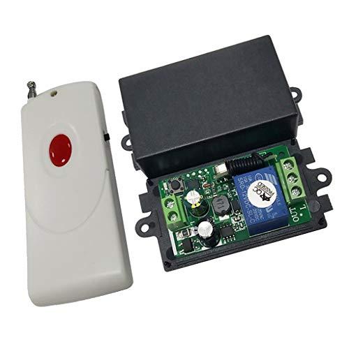 FLAMEER Récepteur avec Télécommande Interrupteur sans Fil - 1 Voie