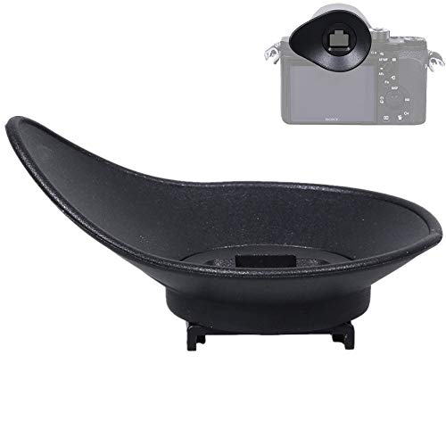 Oval Rotatable Camera Eyecup Eyepiece Viewfinder Eyeshade for Sony A9II A7RIV A7RIII A7III A7RII A7SII A7II A7 A7S A7R Mark IV III II A7M3 A9 A58 A99II Replaces Sony FDA-EP18 FDA-EP16 FDA-EP15 Eye Cup