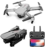 FEATURES: 1080p 4k Dual Camera, Selfie Gesture, Circle Fly, G-Sensor, Height Preservation, Trajectory Flight Path, FPV Wide Angle, Foldable Wings, 6 Axis Gyroscope, 3 Speed Switching Mode, Altitude Hold, Headless Mode, Hovering Function, 2.4GHz Techn...
