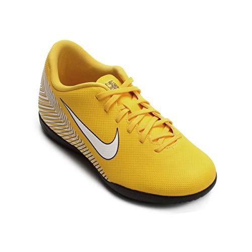 Nike JR Vapor 12 Club GS NJR IC, Zapatillas de fútbol Sala Unisex Adulto, Multicolor (Amarillo/White/Black 710), 38 EU