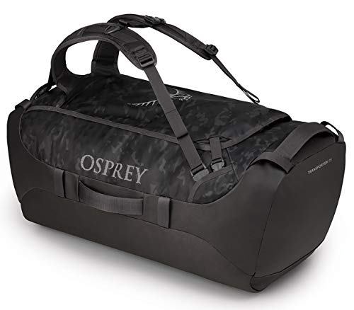 Osprey Transporter 95 Travel Duffel Bag, Camo Black, One Size