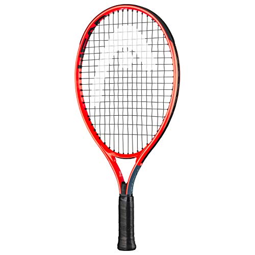 HEAD Kids' Radical Tennis Racket, Grey/Orange, 19 Inch