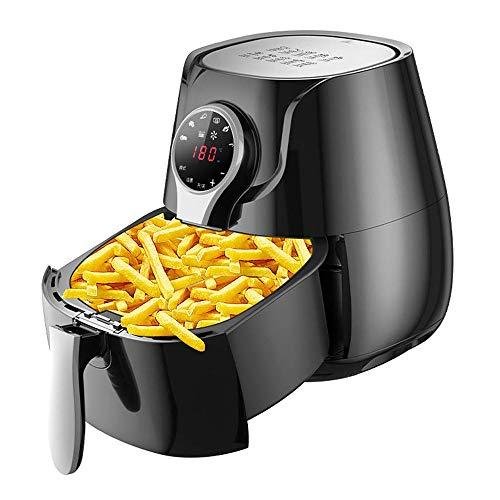 LYYJIAJU Air Fryer Zubehör Air Fryer Ofen, 1400W Electric Air Fryer mit LCD-Digital-Bildschirm, 5,5 Liter Familienstand Air Friteusen Friteuse Öl frei und Low Fat Cooking