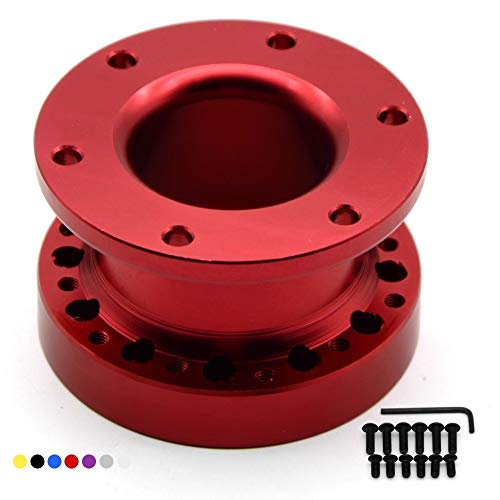 Xyhcs. Universallenkrad Hub Spacer 51MM Lenkradnabe Boss Kit Adapter Spacer (Color : Red)