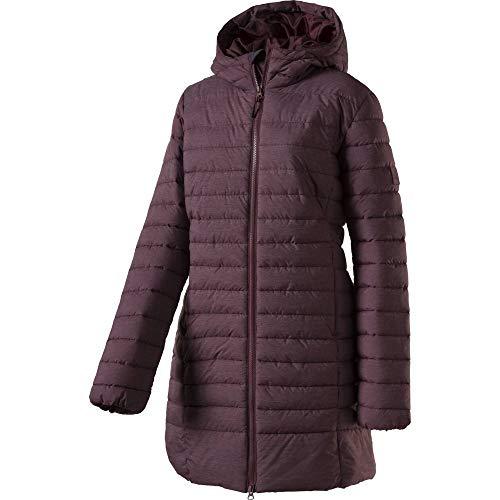 McKINLEY Damen Mantel Heather Wetterfester Outdoor Mantel Jacke Rot Melange Neu, Damen Größe:38
