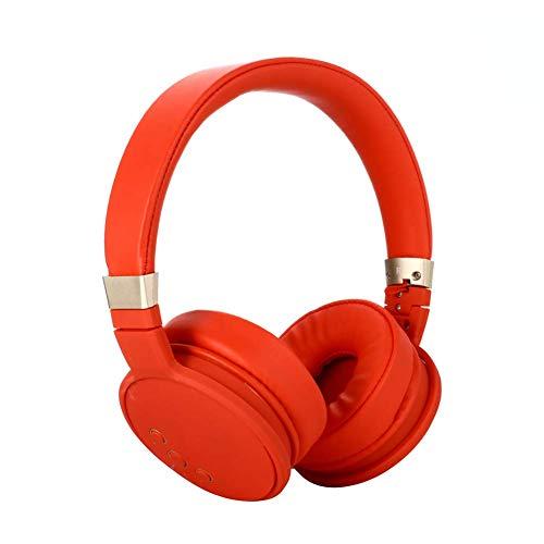 YAJIWU Kopfhörer, Gaming-Headset mit 7.1-Surround-Sound, mit Geräuschunterdrückung, Hi-Fi-Stereo-Bass, weicher Memory-Protein-Ohrenschützer für PS4, Mac, PC, PS2 (Farbe: Rot)