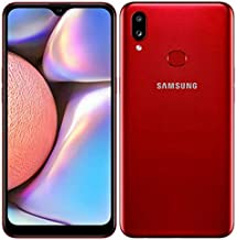 Samsung Galaxy A10s A107M/DS, 4G LTE, International Model (No US Warranty), 32GB, 2GB RAM, Red - GSM Unlocked
