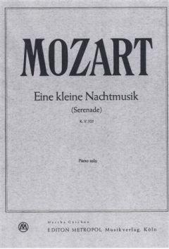 EINE KLEINE NACHTMUSIK G-DUR KV 525 - arrangiert für Klavier [Noten / Sheetmusic] Komponist: MOZART WOLFGANG AMADEUS