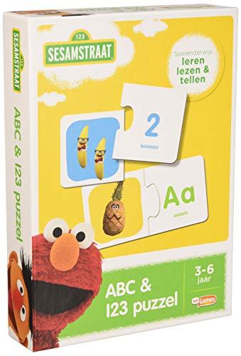Sesamstraat ABC- en 123 puzzel