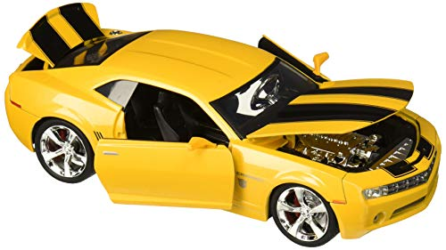 Jada Toys Transformers Bumblebee 2006 Chevy Camaro Concept Die-cast Car, 1:24 Scale Vehicle, Yellow (99382)