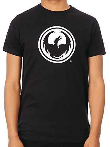 Camiseta Dragon Icon Negro (M , Negro)