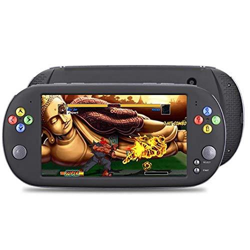 CHENC Handspiel-Konsole, 7-Zoll-Bildschirm Retro Bewegliches Klassische Spiele PSP Built-In 3000 Spielen Besten Geburtstags-Geschenk Für Kinder Erwachsene,16GB