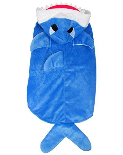 NEW requin pour chien chat Pet Costume Manteau pour chien Vêtements pour garçon fille Taille M Grand Chien 2 x L-5 X L
