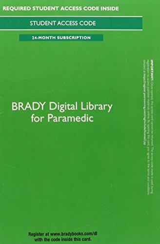 Brady Digital Library for Paramedic Access Card