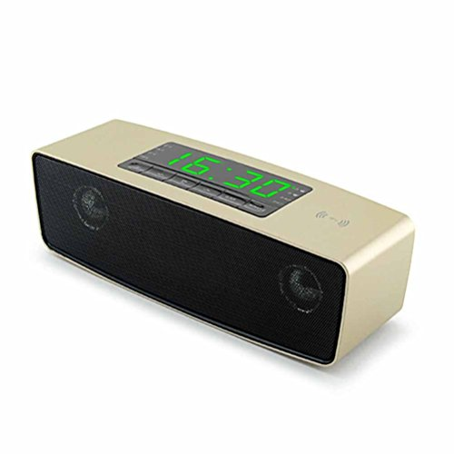 DD Groot beeldscherm Bluetooth kleine audio-speler klok wekker kaart kleine luidspreker desktop draadloze subwoofer