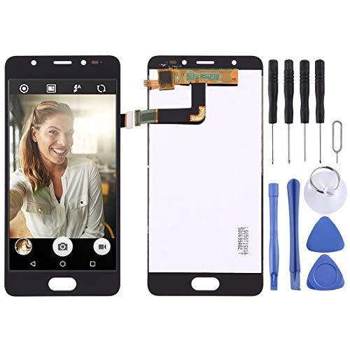 un known Reemplazo Compatible Pantalla LCD y Montaje Completo de digitalizador para BQ ACARIS U/U Lite/U Plus Accesory (Color : Black)