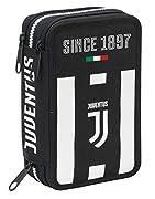 Astuccio 3 Zip Juventus Coaches Include materiale scolastico