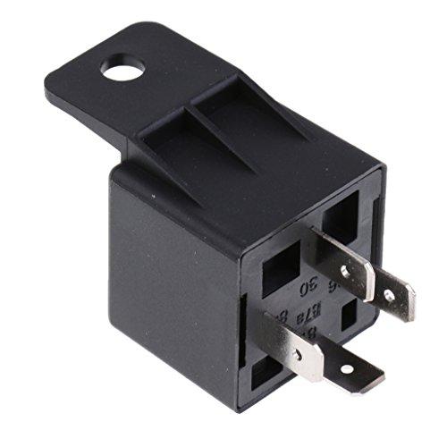 MagiDeal 12V/40A Relais Öffner Arbeitsstromrelais Schaltrelais 4-pin für Kfz Auto