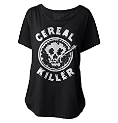 Pyknic Women's Dolman Shirt - CEREAL KILLER