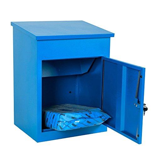 Paketbriefkasten Smart Parcel Box, blau - 6