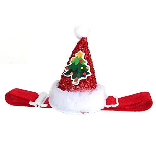 Aeromdale Pet Cosplay Ropa Disfraz Glitter elástico Sombrero para Mascotas Gato Perro...