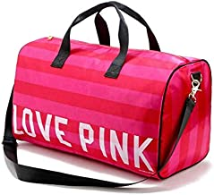 Polyester Duffle Bag For Women,Pink - Sport & Outdoor Duffle Bags