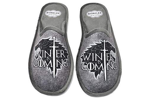 Zapatillas de casa - Juego de Tronos - Game of Thrones - Winter is Coming - BIORELAX 1538