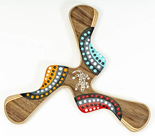 Bumerang Kadina, Handbemaltes Holz