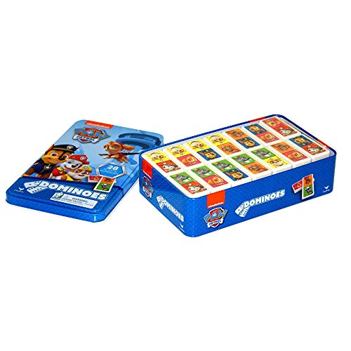 Spin Master - 6033087 - Boîte - Métal - Dominos