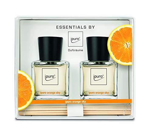 ipuro ESSENTIALS Geschenkset Raumduft orange sky, 1er Pack (2 x 50 ml)