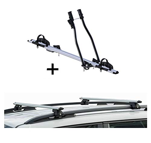 VDP fietsendrager SAGITTAR + raildrager CRV135 compatibel met Renault Clio III combi 05-08