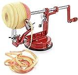 Apple Peeler, Stainless Steel Apple Corer Slicer Peeler, Durable Heavy Duty Die Cast Magnesium Alloy...