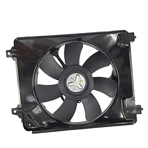 condenser cooling fan civic - 3