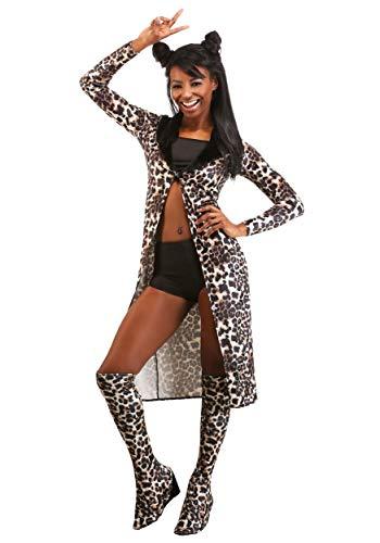 Sassy Girl - Disfraz de estrella pop para mujer - Marrn - Large