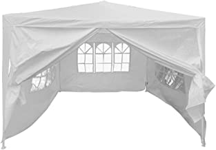 Sponsored Ad - BIGTREE Portable 10'x13' Canopy Gazebo Party Tent with 4 Walls