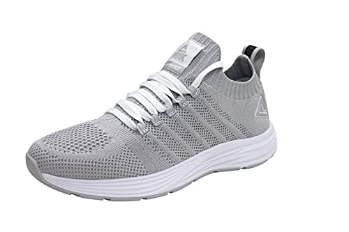 PEAK Womens Lightweight Walking Shoes Comfortable Slip On Sneakers for Running, Tennis, Home, Gym,...