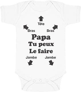 Naughtees clothing Body I Love My Mummy Coton Blanc Grenouillère Bébé Babysuit