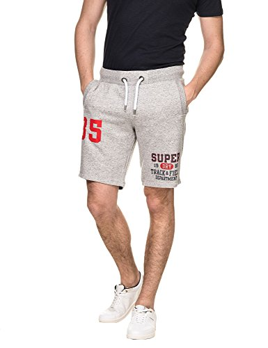 Superdry Shorts heren Trackster LITE Short SD Grey Grit