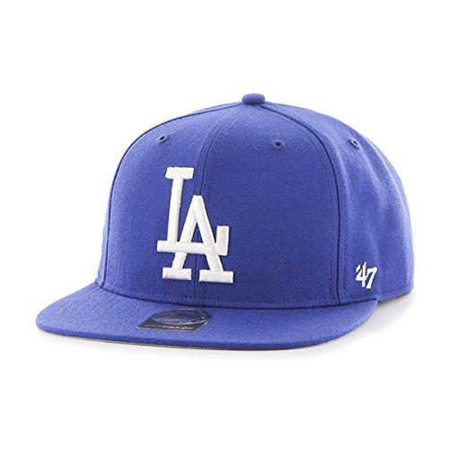 '47 Casquette de Baseball Unisexe MLB Los Angeles Dodgers Sure Shot Captain - Bleu - Taille Unique