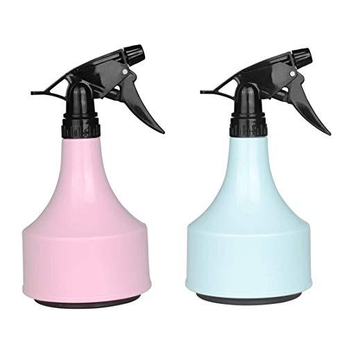 QMYS - Botella de Agua con pulverizador (600 ml, 2 Unidades)