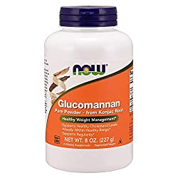 Konjac fiber glucomannan weight loss supplement
