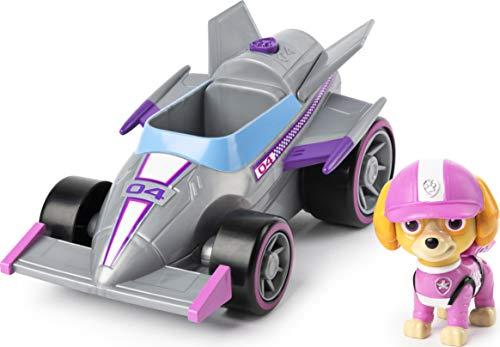 La Pat' Patrouille - 6058586 - Véhicule + Figurine Ready Race Rescue - Stella - Voiture Paw Patrol - Jeu jouet enfant