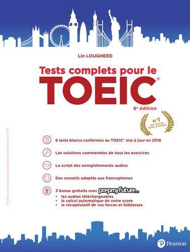 Tests complets pour le TOEIC - 6e édition