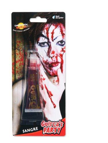 Guirca- Tubetto di Sangue Finto per Trucco Horror 20 ml, Colore Rosso, Taglia Unica, 15344