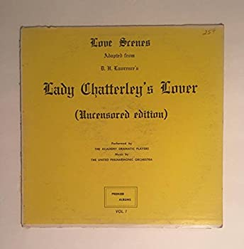 1959 Lady Chatterleys Lover Uncensored Edition   Love scenes adapted from D.H Lawrence Performed by the Academy of Dramatic players Premier albums P 302   Comes with a CD Transfer