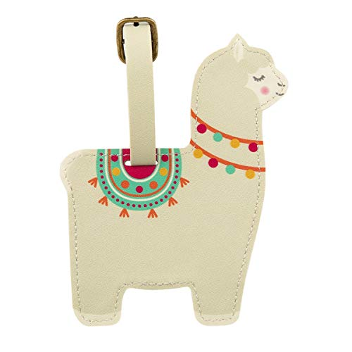Sass & Belle Lima Llama Luggage Tag